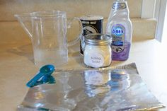 Homemade Silver Jewelry Cleaner.