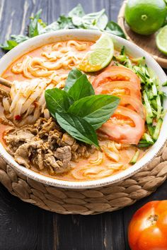This creamy satay beef noodle soup is my go-to for every winter! You'll love this easy, delicious and warming recipe. #sataybeef #sataybeefnoodlesoup #sataybeefnoodles #chinesefood #noodlesoup Healthy Soup Recipes, Beef Recipes, Cooking Recipes, Drink Recipes, Beef Noodle Soup, Beef And Noodles, Pho Recipe Easy, Asian Soup, Asian Beef
