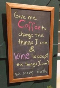 Nice version of the serenity prayer... not appropriate for AA meetings!