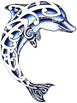 Tribal Dolphin Tattoos Skin-Art Pictures Images Photos Ink Flash 7