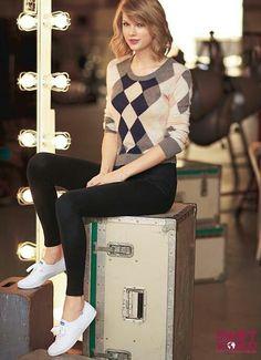 Taylor Swift, keds, and photoshoot Bild