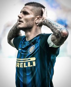 pic by 107 goals for so far: Inter Club, Mauro Icardi, Champions League, Football Players, Superstar, Soccer, Milan, Batman Art, Athletes