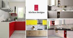 12 Grey Kitchens That Are Drop Dead Gorgeous L Shaped Kitchen Designs, Grey Kitchen Designs, Modern Kitchen Design, Kitchen Design Gallery, Kitchen Cabinet Design, Kitchen Cabinets, All White Kitchen, New Kitchen, Kitchen Modular