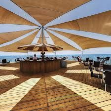 luxury beach bar