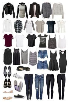 Year Round Capsule Wardrobe: These seem like the kind of basics i need