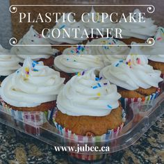 Shop our 12 piece Plastic Cupcake Container with a premium fitted Jubee bag. With a spacious layout this container can show off any creativity, which can lead to a unique look for any Event, Party, or Display! Shop now and save your cupcakes. #cupcake #cupcakecontainer #compartment #cupcakecontainerspack #cake #cupcakebox #jubee #jubeebag #cupcakebag #cutecupcakes #cupcakecompartment #bakingsupply #birthday #bdaycake #container #cupcakeholder #plasticcupcakeholder Cupcake Boxes, Box Cake, Cute Cupcakes, Baking Supplies, Reusable Bags, Mini Cakes, Fresh Rolls, Baked Goods