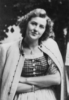 Eva Braun. Wonder if she ever got any while with Hitler?