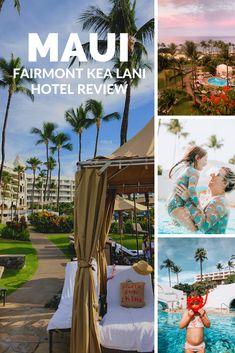A Full Fairmont Kea Lani Resort Review. Why it's the perfect family friendly resort in Wailea Maui Hawaii