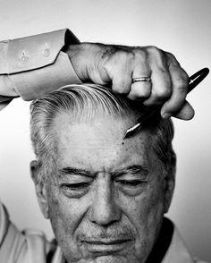Ravageurs write. | Mario Vargas Llosa by Rubén Martín