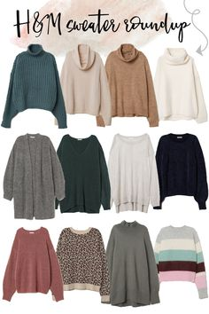 Fall Favorites: H&M Sweater Roundup - Style Worthy Girls Fashion Clothes, Winter Fashion Outfits, Sweater Fashion, Fashion Pants, Look Fashion, Girl Fashion, Clothes For Women, Fashion Sandals, Hm Outfits