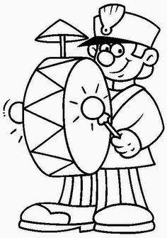 ESPAÇO EDUCAR: Muitos desenhos do dia do soldado para colorir, pintar, imprimir!