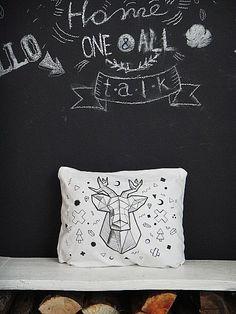this is my (Koidanov) handmade hand draw pillow