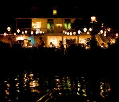 Blue Bayou restaurant Disneyland...your boat goes past the diners