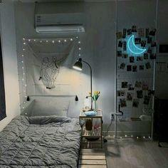 Room Design Bedroom, Room Ideas Bedroom, Small Room Bedroom, Home Room Design, Home Decor Bedroom, Small Room Interior, Minimalist Room, Cozy Room, Aesthetic Bedroom