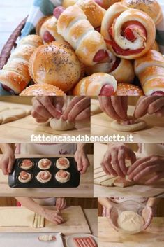 Benedetta's panbrioche yoghurt buffet mix, 3 step-by-step recipes for delicious savory snacks with frankfurters, spreadable cheese and speck, ham and provola cheese. Antipasto, Rustic Buffet, Sports Food, Birthday Dinners, Savory Snacks, Yummy Appetizers, Love Food, Tapas, Food And Drink