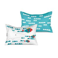 cojin-tiburon Textiles, Throw Pillows, Bed, Dresses, Cribs For Babies, Cushion Covers, Filing Cabinets, Cushions, Stream Bed