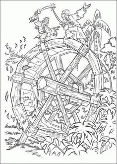 pirates of the caribbean coloring pages and lego inspired free colouring pictures