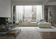 Find out all of the information about the Ligne Roset product: corner sofa / modular / contemporary / leather NILS . Living Room Upholstery, Upholstery Trim, Upholstery Cushions, Upholstery Cleaning, Ligne Roset, Sofas, Furniture Slipcovers, Corner Sofa, Modern Sofa