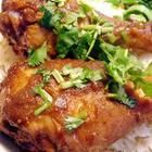 Curried Honey Mustard Chicken - Dijon mustard teams with honey and curry powder in this easy, piquant marinade. Best Chicken Recipes, Great Recipes, Recipe Chicken, Favorite Recipes, Honey Mustard Chicken, Le Diner, Food Dishes, Main Dishes, Entrees