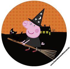 Saquinho de Balas Peppa Pig Halloween