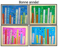 Le Journal de Chrys: Une carte de voeux en maternelle Shabby Vintage, Tarot, Nouvel An, Make A Gift, Happy New Year, Decoupage, Diy And Crafts, Christmas Crafts, Card Making