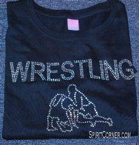 Rhinestone Wrestling Tees