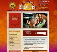 bhaktifest New Website