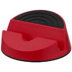 Orso mediahouder rood,zwart 12349302  Orso mediahouder. Stijlvol ontwerp bedoeld als mediahouder voor mobiele apparaten en tablets. Ideaal om films te ...