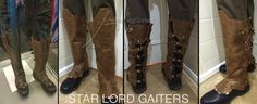 GUARDIANS OF THE GALAXY STAR-LORD GAITERS