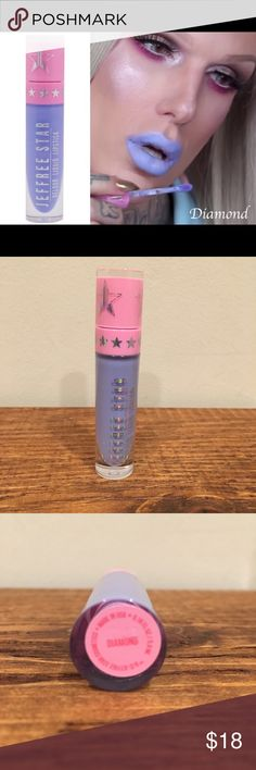 Jeffree Star Diamond Liquid Lipstick •Size: One Size •Brand: Jeffree Star                                                       •Color: Diamond •Condition: NEW ❗️100% Authentic  ❌No trades! No lowest! No lowballers!  ❤️Please be respectful and don't leave any rude comments!  ❤️Free sticker(s) will be given with each purchase Jeffree Star Makeup Lipstick