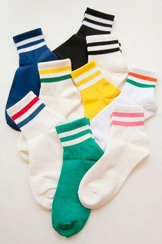 Striped sockz