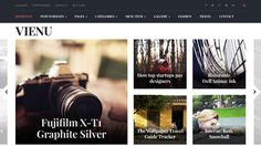 Take your website to a whole new level of design with this theme.