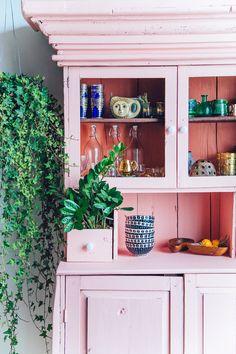 pink cabinet, Justina Blakeney