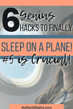 Hacks for sleeping on an airplane. How to fall asleep during a long haul flight! Airplane tips for getting the best rest possible, and what to pack in your carry on bag.