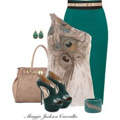 """""""Peacock Style"""" by maggie-jackson-carvalho on Polyvore"""