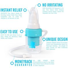 #1 Baby Nasal Aspirator With The Softest Tip By BubziCo for $14.97 Click! http://amzn.to/1NTnrCu
