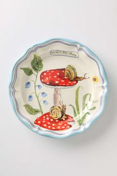 Nathalie Lete plates at Anthropologie