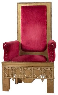 Diy royal throne prop easy and under 25 including chair for Throne chair plans