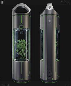 Oxygen in space