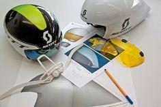 2013 Scott Split Aero Helmet