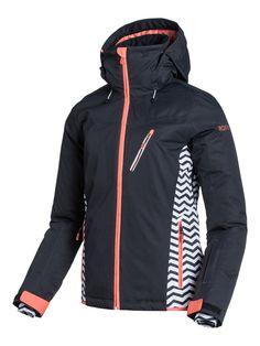 Roxy Sassy Snowboard Jacket Womens Sz M