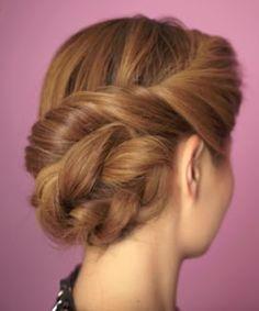 Cabelos, cortes e penteados: Penteado preso fácil de fazer