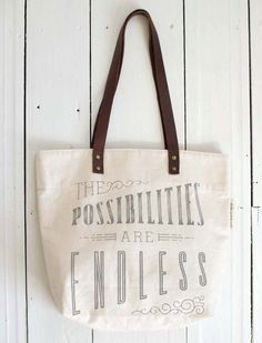 Possibilities tote - love the use of type Types Of Fashion Styles 0d8ec4a56d5ec
