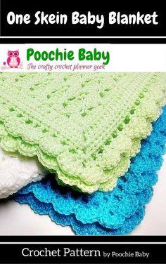 one skein crochet blanket pattern