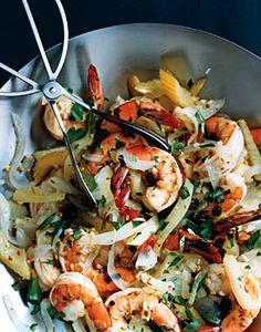 Pickled Shrimp and Vegetables Recipe  at Epicurious.com