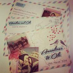 Please vote for this entry in Printed.com's Wonderful Wedding Design-Off! #weddingstationery #weddinginvitations #invitations