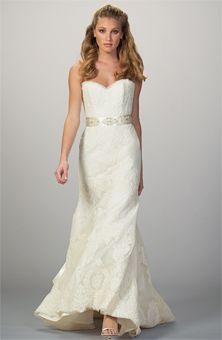 Liancarlo- lace mermaid gown