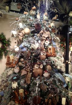 1000 Images About Owl Themed Christmas Tree On Pinterest