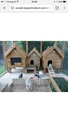 If my princess does I know what she's wanting - Rabbit Hutches: Outdoor & Indoor Rabbit Hutche Models Rabbit Shed, Rabbit Farm, Bunny Cages, Rabbit Cages, Rabbit Habitat, Rabbit Enclosure, Bunny Room, Meat Rabbits, Bunny Hutch