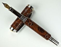 Handcrafted Wooden Pen Hand Turned Fountain by MikesPenTurningZ, $159.00